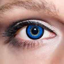 Blaue Big Kontaktlinsen 15mm farbige große Augen Blue Lenses Baby Doll Eyes;K600