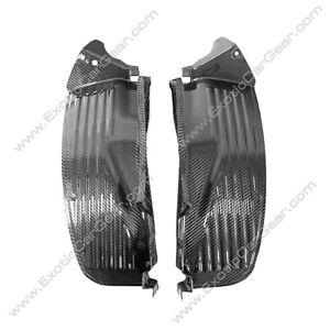 McLaren 650S/MP4-12C Carbon Fiber Front Door Fender Shields
