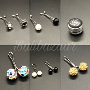 Muslim Hijab Scarf Clip Pins Fashion Snag Free Dimond Pearl Shambala Magnet