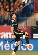 "Genuine Signed Diego Costa -Atletico Madrid Chelsea  "" 12""x8"" photo PROOF&COA"