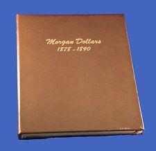 Dansco Morgan Dollars Album 1878-1890 #7178