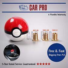 Shift Knob Pokemon Universal Poke Ball for BMW Hyundai Scion Subaru M10X1.25
