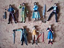Lot 7 Figurines Final Fantasy 8 Bandai 1998