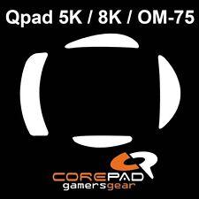 Corepad Skatez Qpad 5K 8K OM-75 Ersatz Teflon® Mausfüße Hyperglides Hyper-Glides
