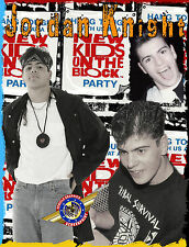 """New Kids On The Block """" Rock Star """" Personalized T-shirts"""