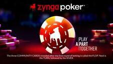 ZYNGA POKER CHIP - 1T