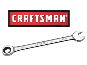 New Craftsman Ratcheting Combination Wrench Any Size Metric / SAE/Inch Polished