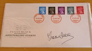 """FDC (First Day Cover) Signed Sharon Duce, """"Dr Who"""""""