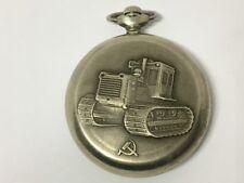 "Ultra RARE! Collectable! Molnija ""TRACTOR"" Mechanical Pocket Watch USSR Soviet"