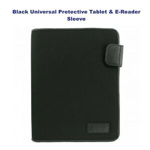 2 Pack Black Universal USA GEAR Protective Tablet & E-Reader Sleeve