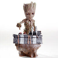 """6.3"""" Guardians Of The Galaxy Vol 2 Cute Groot Pressed Bomb Figure Gift 2020 New"""