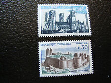 FRANCE - timbre yvert et tellier n° 1235 1236 n** (A9) stamp french