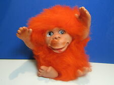 "Chimpy Monkey- 6"" Plastech International Designs Limited/Rauls - Vintage - New"
