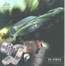 2001 Jaguar XK8 XK Accessories Brochure mx4048-1D3GGM