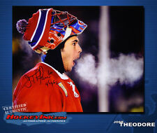JOSE THEODORE SIGNED Canadiens 16X20 Photo -77075