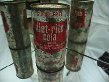 Diet Rite Cola , Sugar Free Soda 12 Oz. Flat Top Can