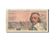 Billets, France, 1000 Francs, 1 000 F 1953-1957 ''Richelieu'', 1954 #209631