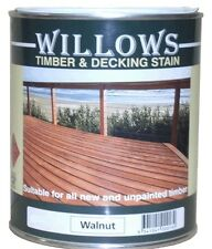 Willows Timber Deck Furniture Window Beams Stain Paint OiL Based 10L Redwood