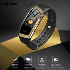 Jelly Comb Smart Watch For Android IOS Blood Pressure Heart Rate Monitor