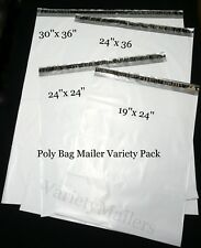 6 Xx Large Poly Bag Envelope Mailer 4 Jumbo Size Variety Pack 25 Mil Quality