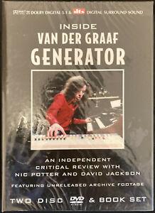 Inside Van Der Graaf Generator - 2 Disc DVD & Book Set - Brand New Sealed DVD