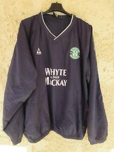 Sweat training HIBERNIAN vintage LE COQ SPORTIF shirt football collection XL