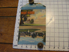early paper: MOUNT VERNON VA POSTCARD pack of pictures, early unused
