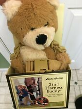 Eddie Bauer 2 in 1 Harness Buddy, Child's Bear Backpack, NIP style 53941