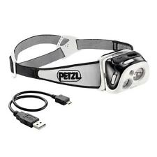 Petzl Reactik 190 Lumens LED Reactive Rechargeable Headlamp Black New In Box