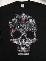 The Walking Dead TWD Walker Skull Negan Rick Michonne Daryl Walkers T-Shirt