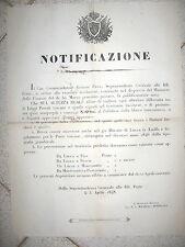 W518-TOSCANA-GRANDUCATO-POSTA UNIFORMARE LEGGI TOSCANE CON QUELLE LUCCHESI