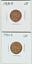 1931-S LINCOLN CENT TOUGH DATE SOLD AS ONE EACH