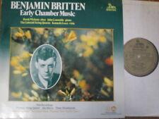 DKP 9020 Britten Early Chamber Music / Wickens / Constable / Gabrieli Quartet