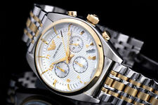 Emporio Armani AR0396 Mens Watches Classic Gold Stainless Steel