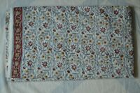 * Floral Fabric 100%Cotton Women Dress Voile Fabric 2.5 Yard Indian Hand Block