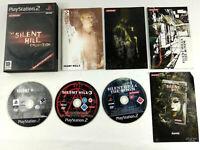 Jeu Playstation 2 PS2 VF Silent Hill Collection avec notices  Envoi rapide suivi