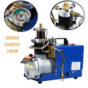 300Bar 4500PSI Kompressor PCP Hochdruck Hochdruckluftpumpe Kompressorpumpe Pumpe