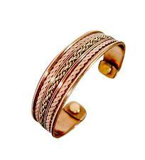 Mens Bio Celtic Magnetic Copper Bracelet-Bangle Arthritis Pain Relief Strength