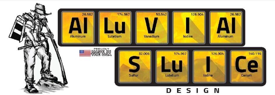 Alluvial Sluice Design