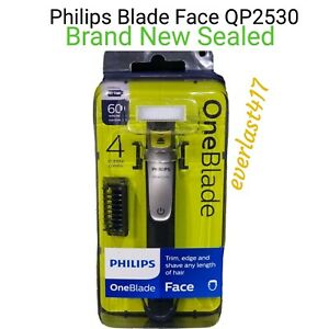 Philips QP2530/25OneBlade Shaver with 4 Stubble Combs Wet &Dry,[Trim,edge,shave]