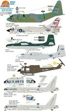 Wolfpak Decals 72-039 Down The Rabbit Hole C-130E, F08E, B-26K, RB-26K, UH-1B