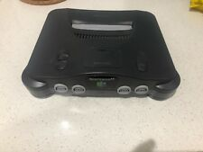 Nintendo 64 Black Console + Power pack