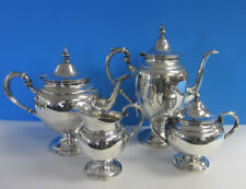 Sterling Silver Gorham Puritan Coffee & Tea  -- 4 piece Set -- Free Shipping *