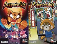 AGGRETSUKO #1 COVER A & COVER B SET SOLD OUT ONI PRESS COMIC BOOK LOT TV SHOW 2