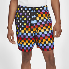 Nike Jordan Retro 3 AOP Shorts DD5251-010 Black Multi Color Men's sz S-XXL