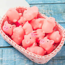 Pink Screaming Rubber Pig Dog Toys Cat Pets Toys Squeaker Chew Home Decorations