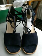 Paul green stunning  blue sandals UK 3 BNIB classy bespoke.£140rrp