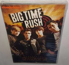 BIG TIME RUSH SEASON 1 VOLUME 2 BRAND NEW SEALED R1 DVD BTR NICKELODEON