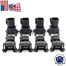 8x Fuel Injector Connector Adapter EV6 to EV1 USCAR LS2 LS3 LSX LS1 LT1 TPI