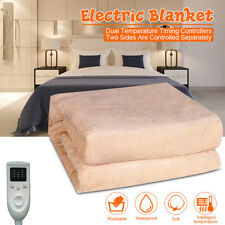 Queen Size Anticreep Rapid Heating Electric Heated Blanket Timing   r@#%